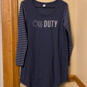OLD NAVY 🌸Off Duty🌸 Night shirt